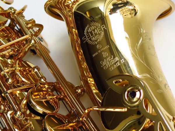 Sax alto Selmer SA80 Série 2 (1)