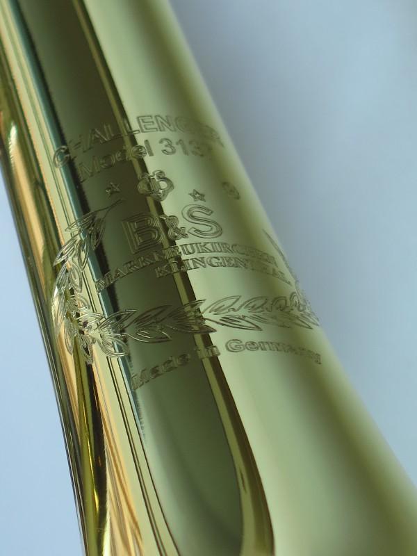 Trompette Sib B&S 3137 Challenger I