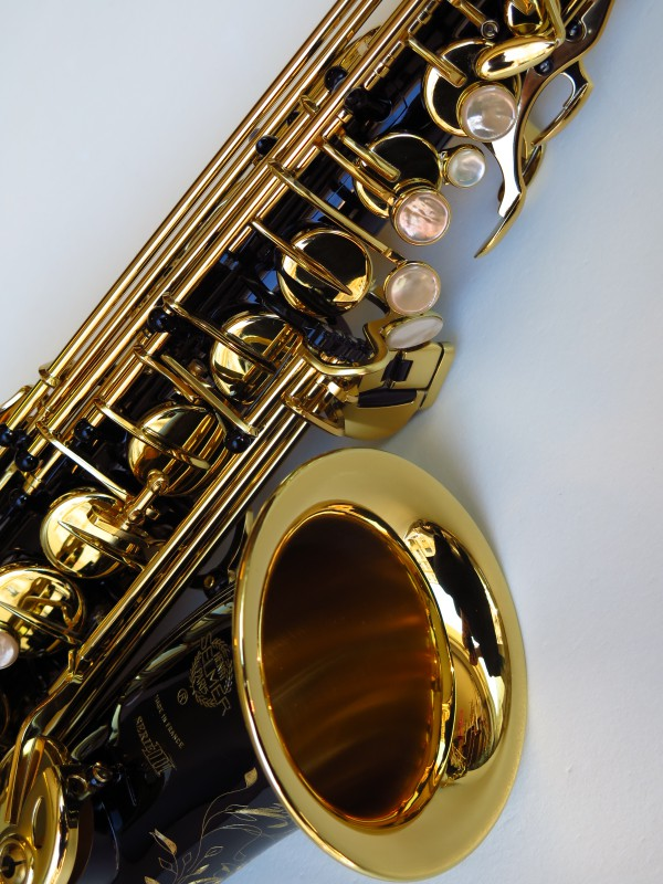 Sax alto Selmer Série 3 verni noir (10)