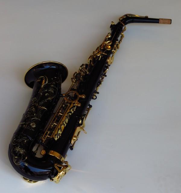 Sax alto Selmer Série 3 verni noir (11)