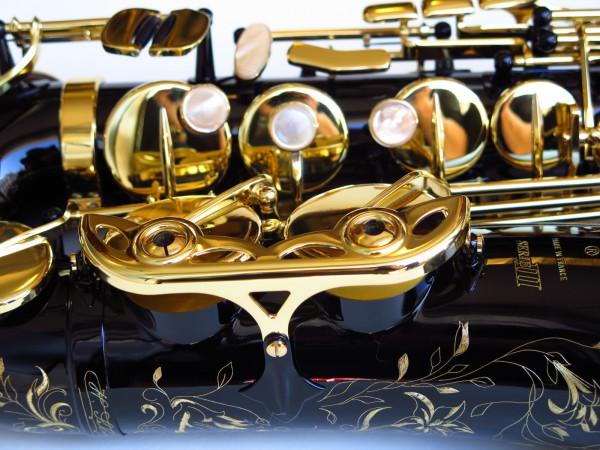 Sax alto Selmer Série 3 verni noir (4)