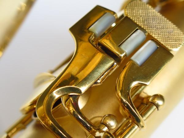 Sax ténor Conn Chu Berry plaqué or (3)
