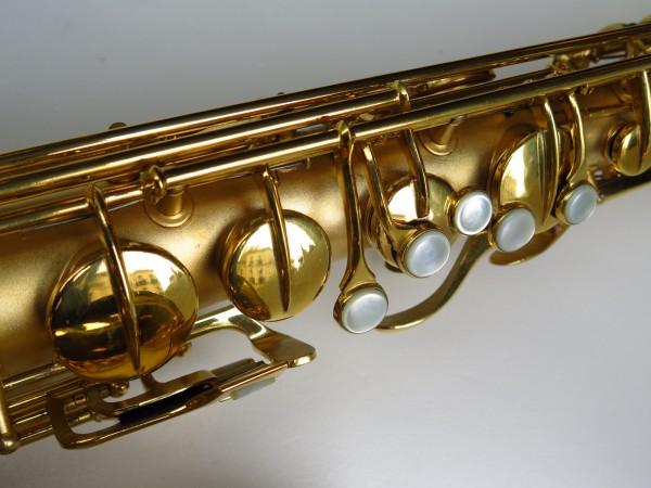 Sax ténor Conn Chu Berry plaqué or (4)