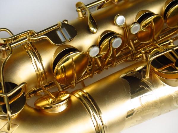 Sax ténor Conn Chu Berry plaqué or (5)