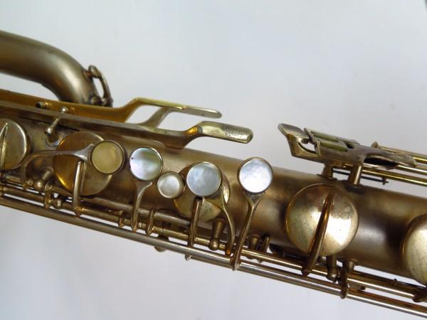 Sax baryton Conn 12M plaqué or (21)