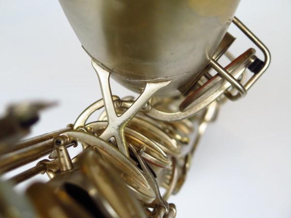 Sax baryton Conn 12M plaqué or (3)