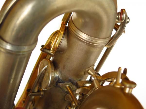 Sax baryton Conn 12M plaqué or (5)