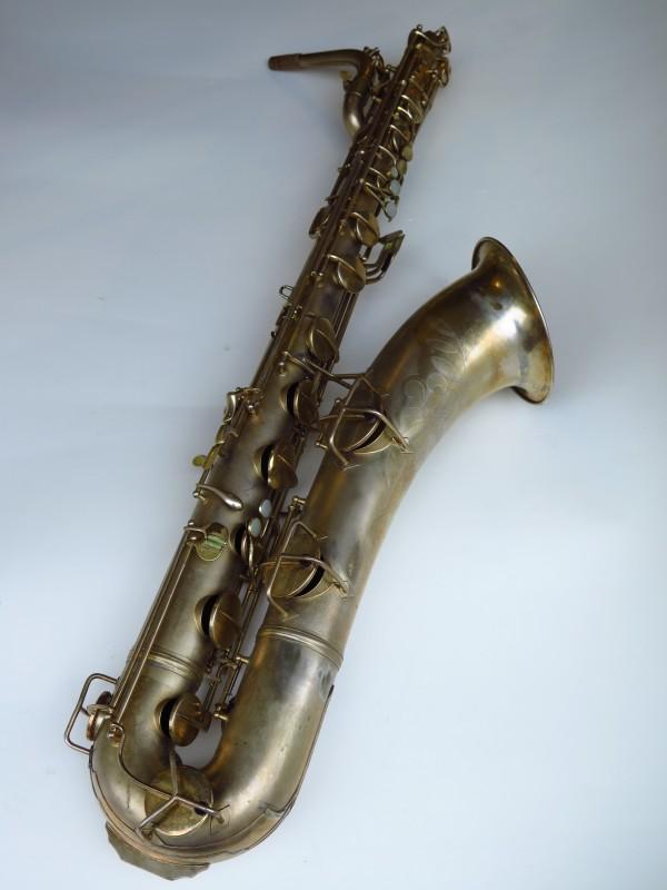 Sax baryton Conn 12M plaqué or (6)