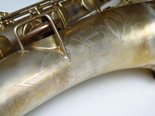 Sax baryton Conn 12M plaqué or (8)