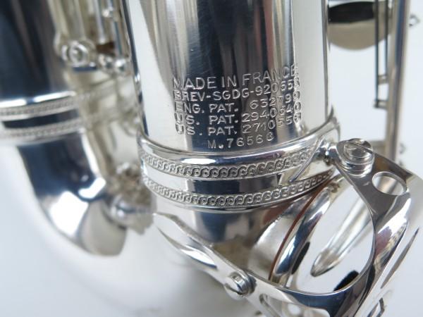 Sax alto Selmer Mark VI argenté (11)