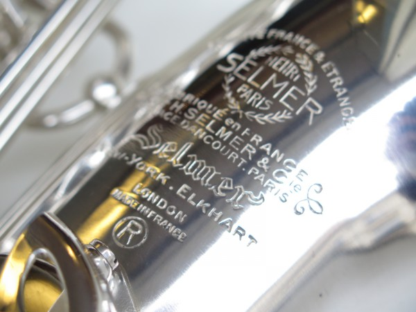 Sax alto Selmer Mark VI argenté (4)