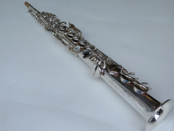 Sax soprano Selmer Mark VI argenté (10)
