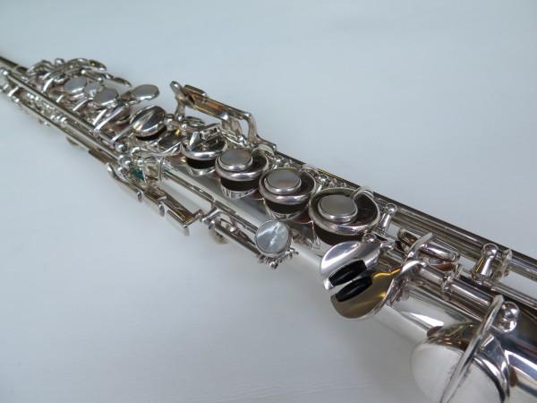 Sax soprano Selmer Mark VI argenté (12)