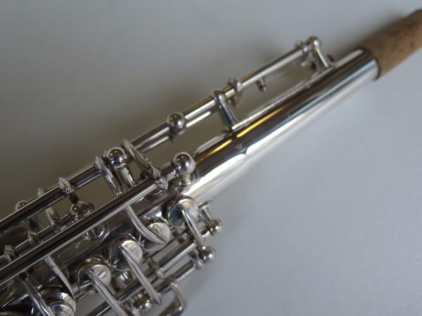 Sax soprano Selmer Mark VI argenté (3)