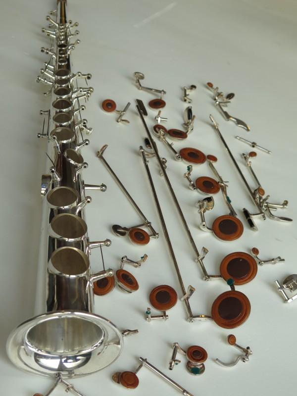 Sax soprano Selmer Mark VI argenté (4)