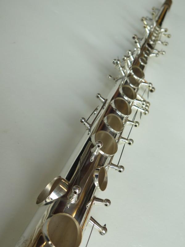 Sax soprano Selmer Mark VI argenté (5)