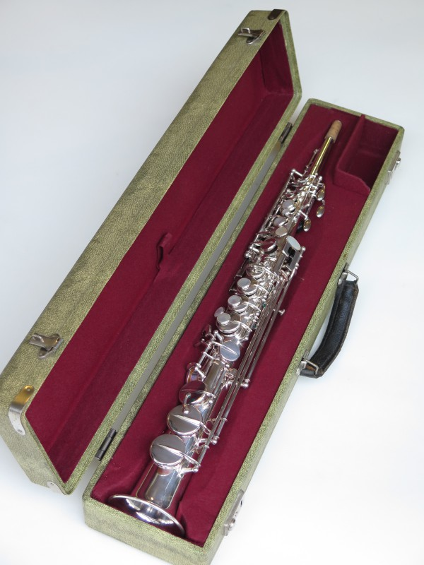 Sax soprano Selmer Mark VI argenté (9)