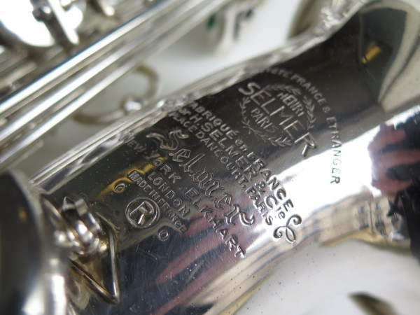 Sax alto Selmer Mark VI argenté (1)