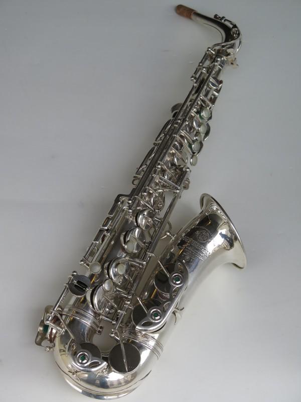 Sax alto Selmer Mark VI argenté (17)