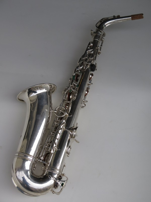 Sax alto Selmer Mark VI argenté (18)