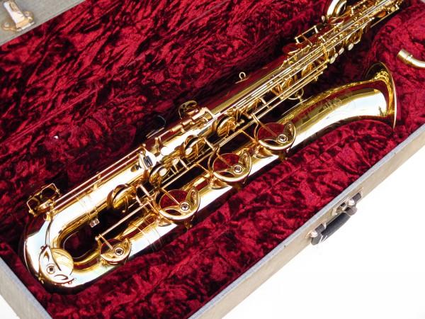 Sax baryton Selmer Mark 6 verni gravé (1)