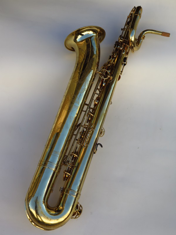 Sax baryton Selmer Mark 6 verni gravé (20)