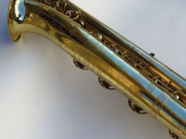 Sax baryton Selmer Mark 6 verni gravé (21)
