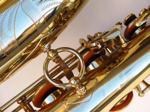 Sax baryton Selmer Mark 6 verni gravé (26)