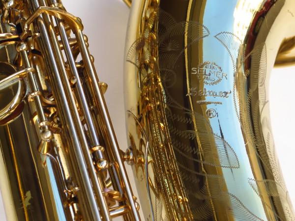 Sax baryton Selmer Mark 6 verni gravé (30)