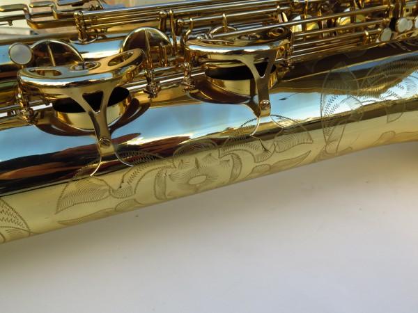 Sax baryton Selmer Mark 6 verni gravé (33)