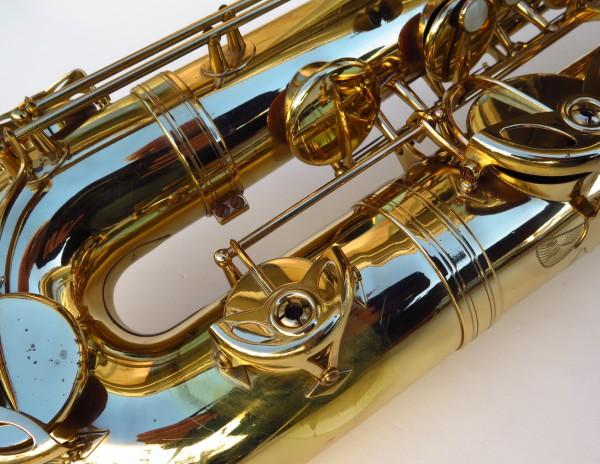 Sax baryton Selmer Mark 6 verni gravé (34)