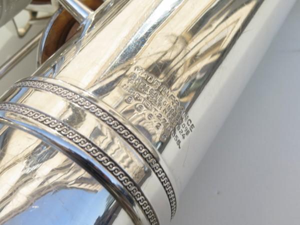 Saxophone baryton Selmer Mark 6 argenté (11)