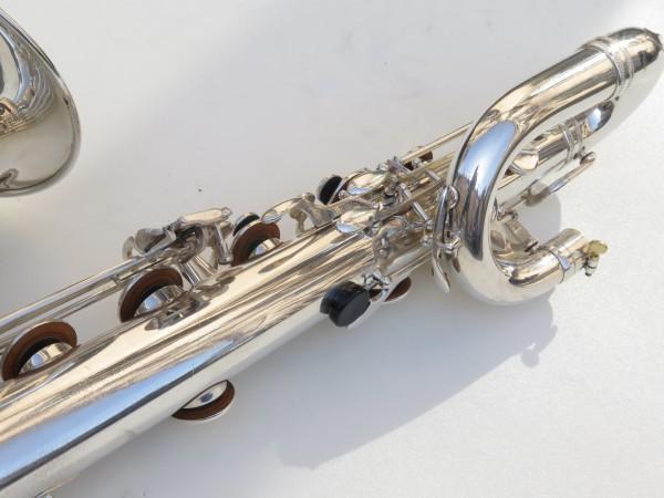 Saxophone baryton Selmer Mark 6 argenté (15)