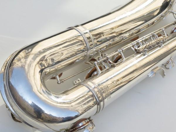 Saxophone baryton Selmer Mark 6 argenté (16)