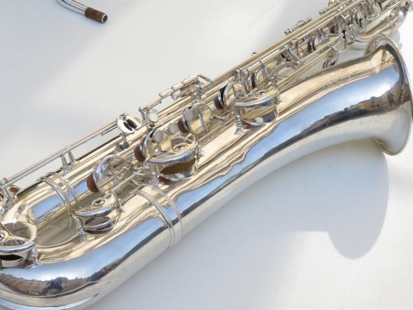 Saxophone baryton Selmer Mark 6 argenté (17)