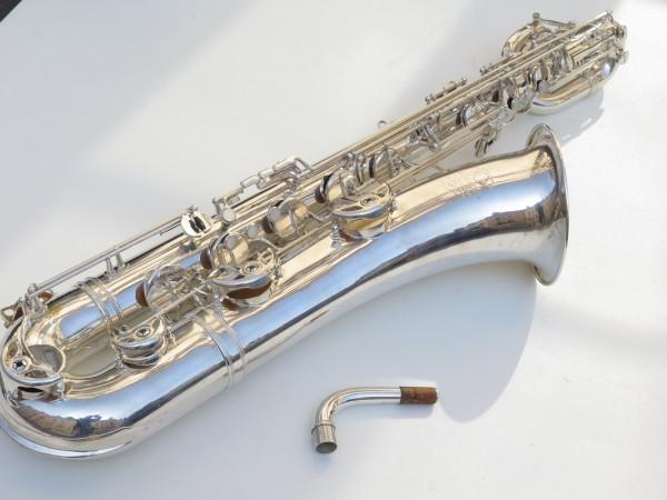 Saxophone baryton Selmer Mark 6 argenté (18)