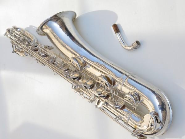 Saxophone baryton Selmer Mark 6 argenté (19)