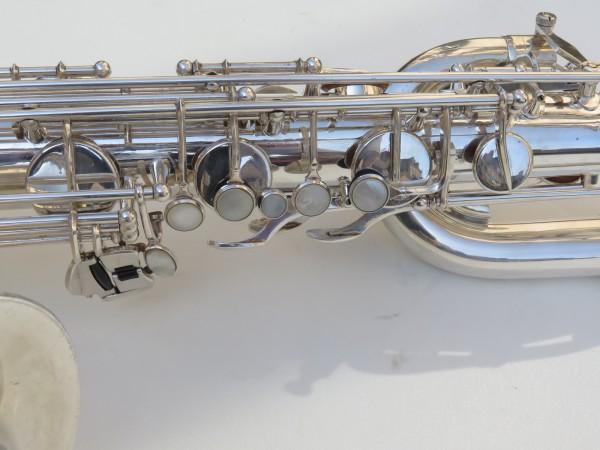 Saxophone baryton Selmer Mark 6 argenté (2)