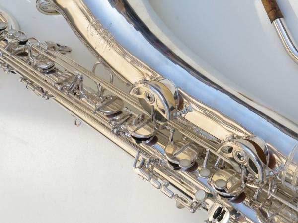 Saxophone baryton Selmer Mark 6 argenté (20)