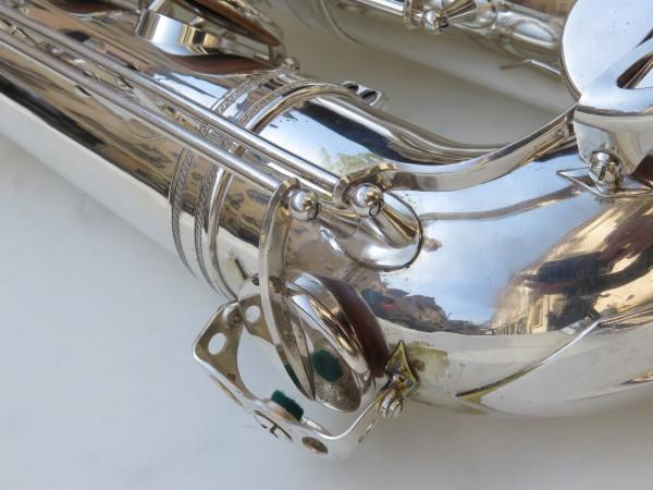 Saxophone baryton Selmer Mark 6 argenté (4)