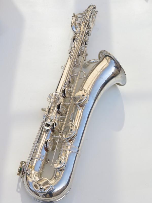 Saxophone baryton Selmer Mark 6 argenté (9)