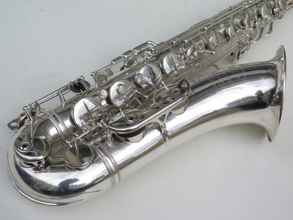 Saxophone ténor Selmer Mark 6 argenté (10)