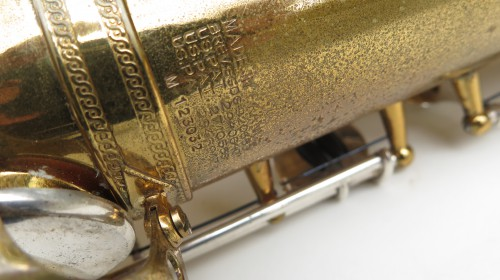 Saxophone ténor Selmer Mark 6 permagold (1)