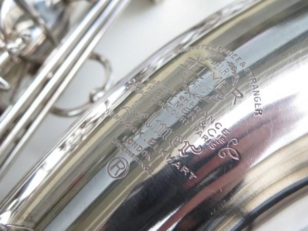 Saxophone tenor Selmer Mark 6 argenté (4)