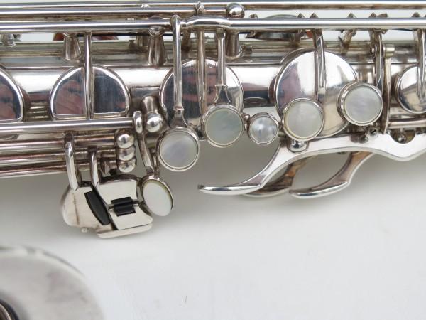 Saxophone tenor Selmer Mark 6 argenté (6)