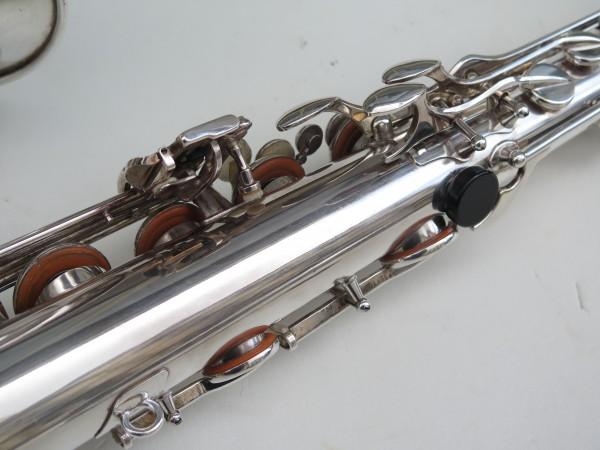Saxophone tenor Selmer Mark 6 argenté (8)