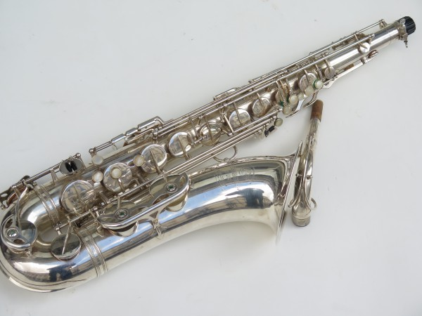 Saxophone tenor Selmer super balanced action argenté (2)