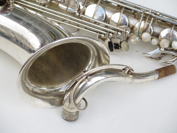 Saxophone tenor Selmer super balanced action argenté (3)
