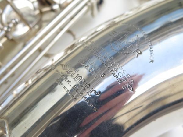Saxophone tenor Selmer super balanced action argenté (4)