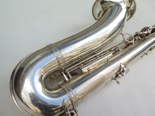 Saxophone tenor Selmer super balanced action argenté (6)